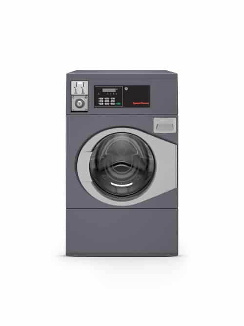 Professional front load washer - Coin operated - Speed Queen SFC front view