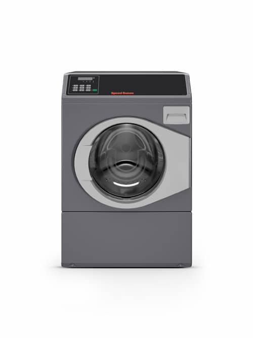 Professional front load washer - Speed Queen SFC front view