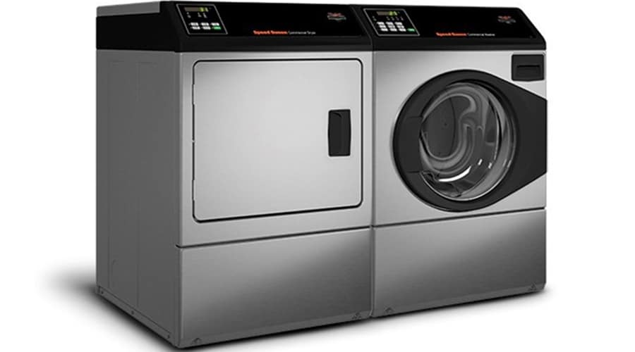 Paired professional washer and dryer - Speed Queen professional