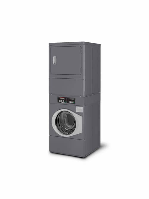Stack washer dryer - Speed Queen STWC front view